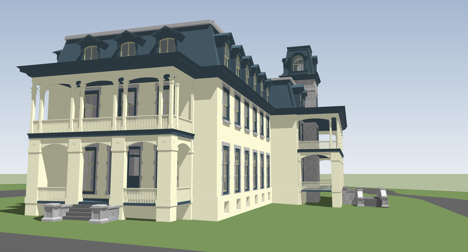 Prichard design history studio for Sketchup building